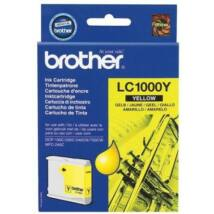 Brother LC1000Y eredeti tintapatron