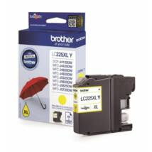 Brother LC225XL (Y) eredeti tintapatron
