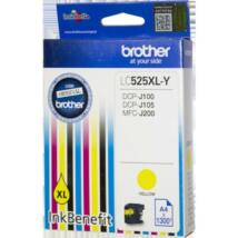 Brother LC525XL Y eredeti tintapatron