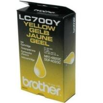 Brother LC700Y eredeti tintapatron