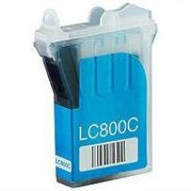 Brother LC800C kompatibilis tintapatron