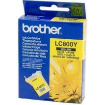 Brother LC800Y eredeti tintapatron