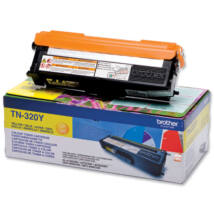 Brother TN-320Y eredeti toner