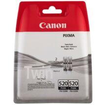 Canon PGI-520BK eredeti tintapatron duplacsomag