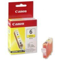 Canon BCI-6Y eredeti tintapatron
