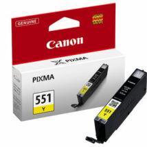 Canon CLI-551 (Y) eredeti tintapatron