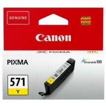 Canon CLI-571 (Y) eredeti tintapatron