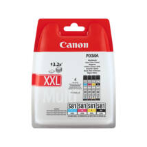 Canon CLI-581XXL (BKCMY)(1998C005) eredeti 4db-os tintapatron csomag