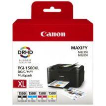 Canon PGI-1500XL (BKCMY) eredeti tintapatron csomag