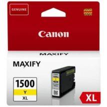 Canon PGI-1500XL (Y) eredeti tintapatron