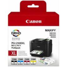 Canon PGI-2500XL (BKCMY) eredeti tintapatron csomag