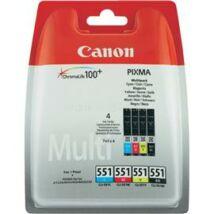 Canon CLI-551 (BK/C/M/Y) Eredeti tintapatron multipack