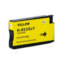 HP 953XL (F6U18AE) (Y) (100% új) kompatibilis tintapatron