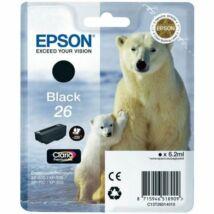 Epson 26BK (T2601) eredeti tintapatron