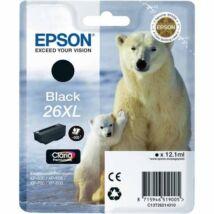 Epson 26XLBK (T2621) eredeti tintapatron
