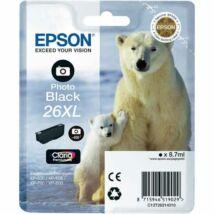 Epson 26XLPBK (T2631) eredeti tintapatron