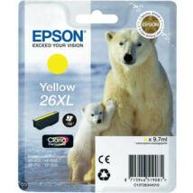 Epson 26XLY (T2634) eredeti tintapatron