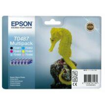 Epson T0487 eredeti multipack