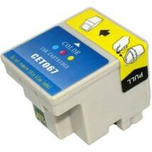 Epson T067CMY kompatibilis tintapatron