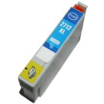 Epson 27XL (T2712) (C) kompatibilis tintapatron