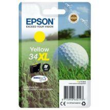 Epson 34XL (T3474) (Y) eredeti tintapatron