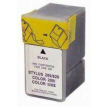 Epson 047BK (S020047) kompatibilis tintapatron