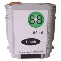 HP 88XL BK (C9396A) kompatibilis tintapatron