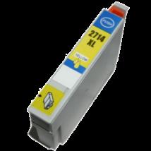 Epson 27XL (T2714) (Y) kompatibilis tintapatron