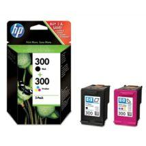 HP 300 (CN637EE) (BK+CMY) eredeti tintapatron csomag