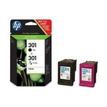 HP 301 (CR340EE / N9J72AE ) (BK+CMY) eredeti tintapatron csomag multipack