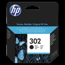 HP 302 (BK) (F6U66AE) eredeti tintapatron