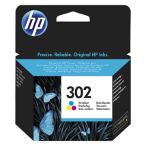 HP 302 (CMY) (F6U65AE) eredeti tintapatron