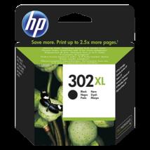 HP 302XL (BK) (F6U68AE) eredeti tintapatron