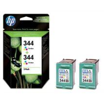 HP 344 (C9505EE) eredeti tintapatron dupla csomag