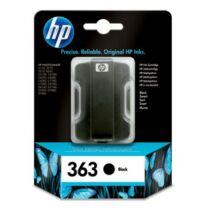 HP 363BK (C8721E) eredeti tintapatron