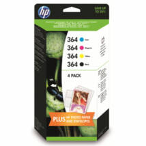 HP 364 BKCMY (J3M82AE) eredeti patroncsomag + fotópapír