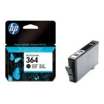 HP 364 PBK (CB317EE) eredeti tintapatron
