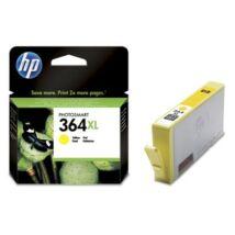 HP 364XL (Y) (CB325EE) eredeti tintapatron