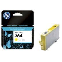 HP 364 (Y) (CB320EE) eredeti tintapatron