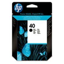 HP 40BK (51640A) eredeti tintapatron