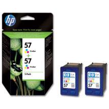 HP 57 (C9503AE) eredeti tintapatron dupla csomag