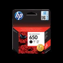 HP 650 (CZ101AE) (BK) eredeti tintapatron