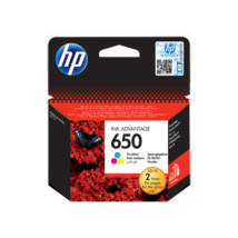 HP 650CMY (CZ102AE) eredeti tintapatron