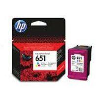 HP 651 (C2P11AE) (CMY) eredeti tintapatron
