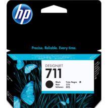 HP 711BK (CZ129A) eredeti tintapatron