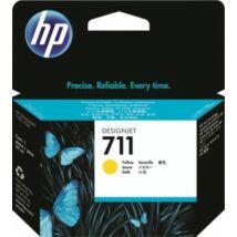 HP 711Y (CZ132A) eredeti tintapatron