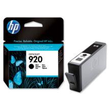 HP 920BK (CD971A) eredeti tintapatron