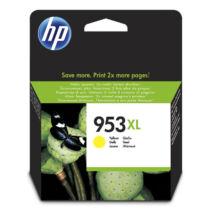 HP 953XL (F6U18AE) (Y) eredeti tintapatron