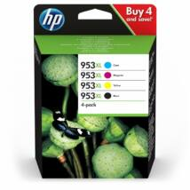 HP 953XL (3HZ52AE) BKCMY eredeti 4db-os tintapatron csomag