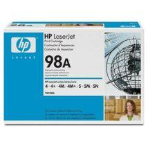 HP 98A (92298A) eredeti toner